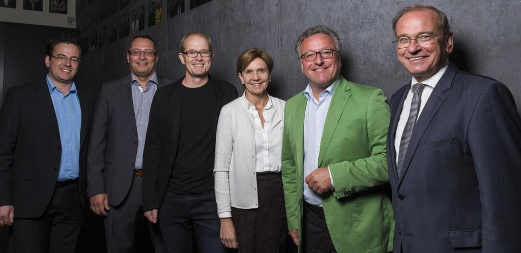 Clemens Ziermeier (ASFINAG) Klaus Leirer (ASFINAG), Martin Skalet (Marte.Marte),..