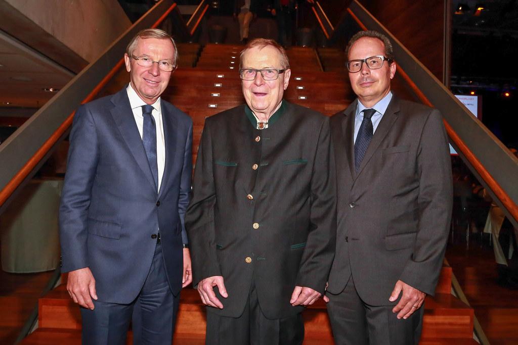 LH Wilfried Haslauer, Wilhelm Klepsch (Vorsitzender des Aufsichtsrates Senoplast..