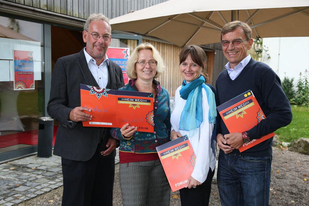 Gerald Koller Tagungsleiter, Beate Mitzscherlich Hauptreferentin, LR Martina Ber..