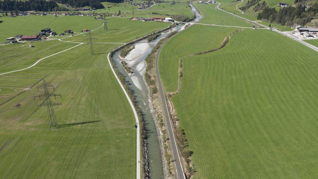 Vorzeige-Beispiel Hochwasserschutz Bramberg