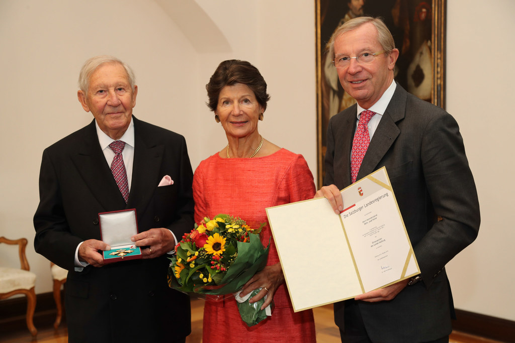 Josef Koller mit Ehefrau Waltraud