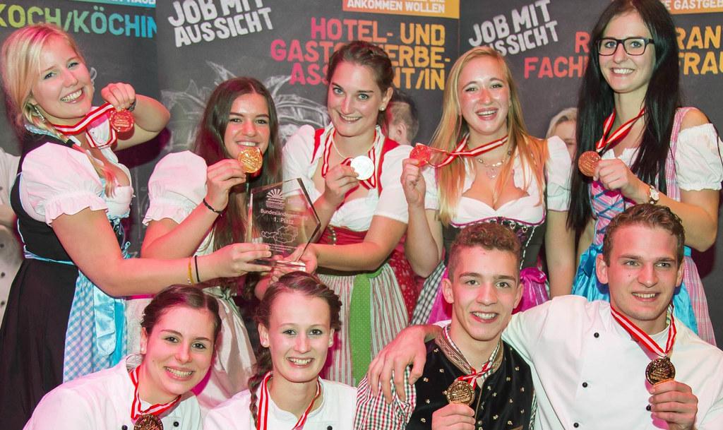 Johanna Straube, Andrea Vorreiter, Kristina Neuhauser, Heidi Aichhorn, Stefanie ..