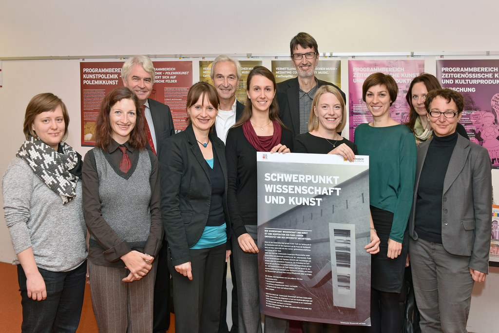 Heinrich Schmidinger, Landesrätin Martina Berthold, Gerbert Schwaighofer und Wol..