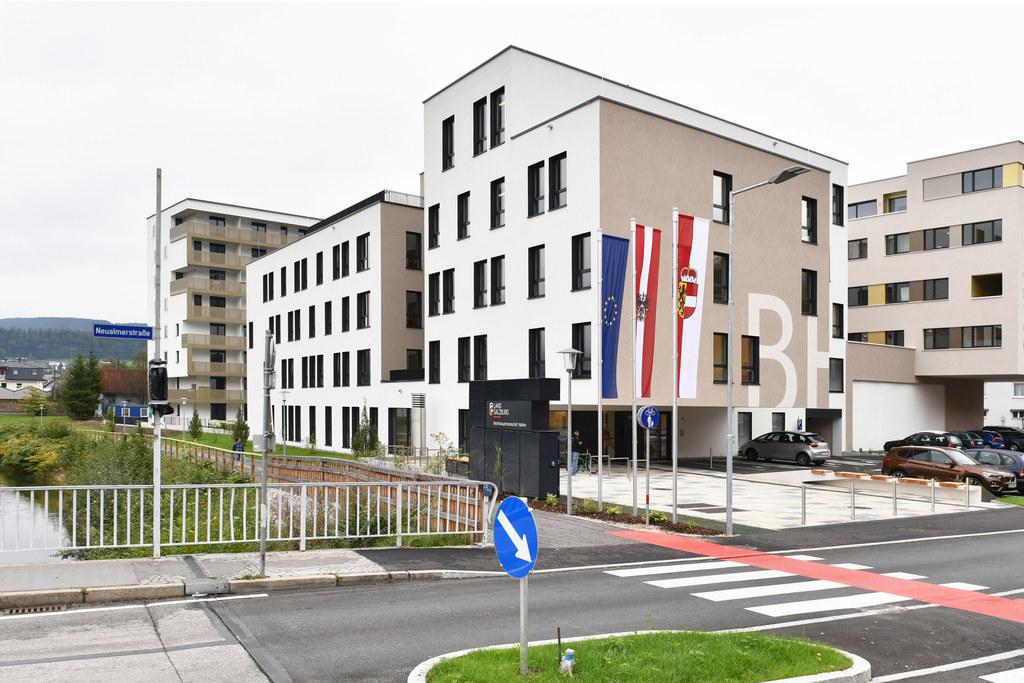 Neue Bezirkshauptmannschaft Hallein