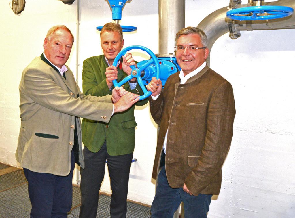 Trinkwasserkraftwerke in Bad Hofgastein eröffnet