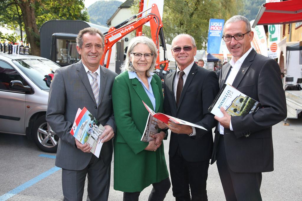 Frank Drechsler Organisator, Eva Habersatter-Lindner WKS Bezirksobfrau Tng., LH-..