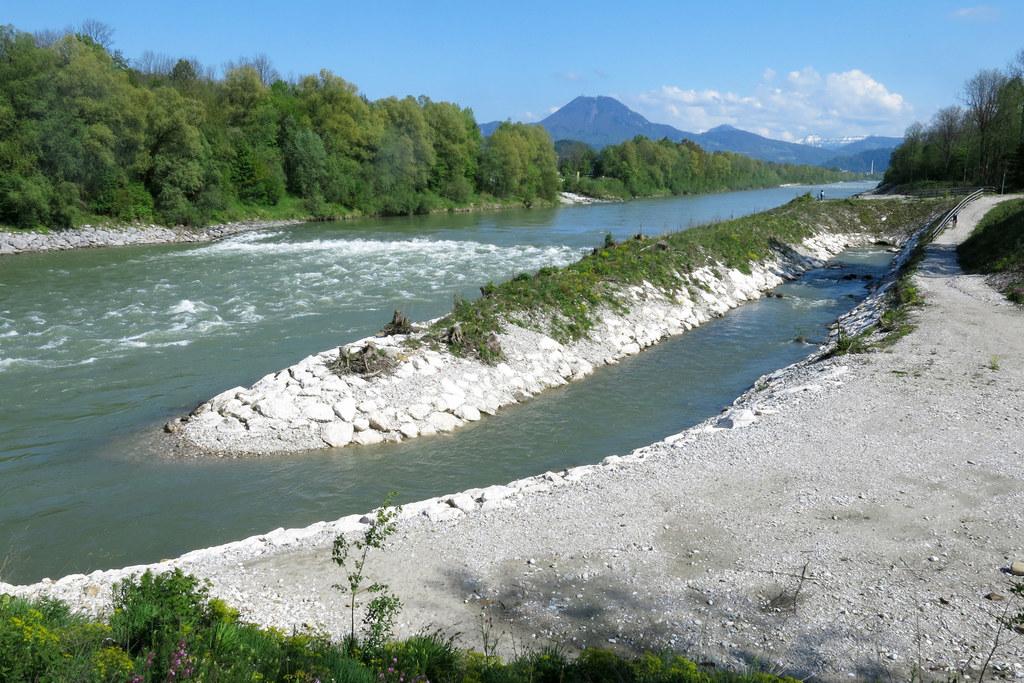 Hochwasserschutz Saalachspitz