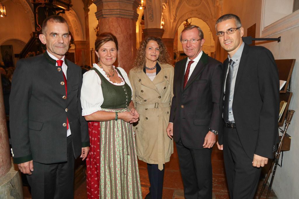 Initiator Siegfried Hetz, Berta Altendorfer (Bildungswerk Mattsee), Komponistin ..