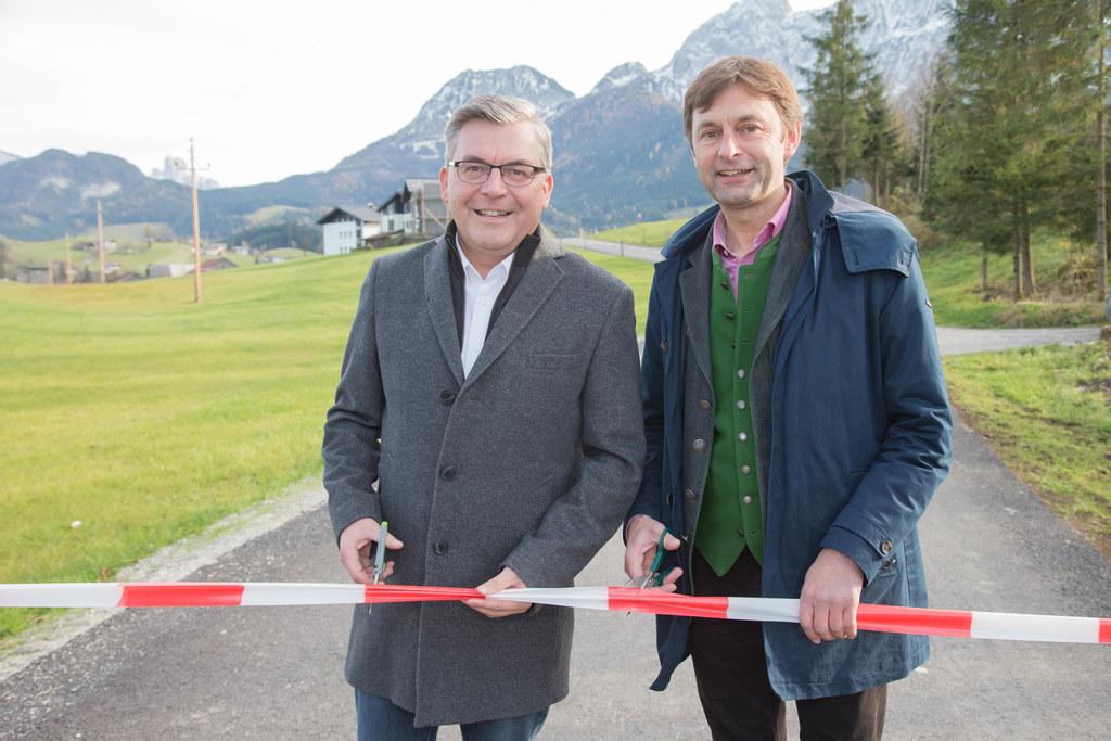 Landesrat Josef Schwaiger und Bgm. Johann Schnitzhofer