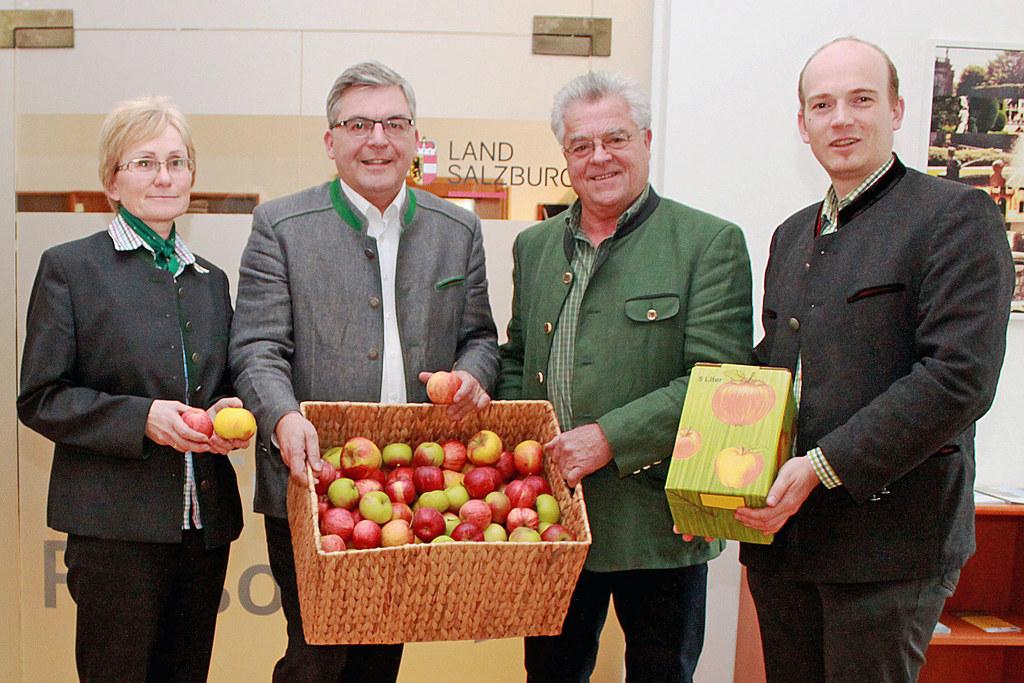 Marianne Wartbichler, (Landesverband für Obst- und Gartenbau), Landesrat Josef S..