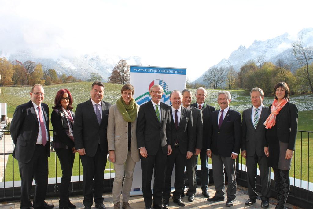 7. EuRegio-Gipfel in Bayerisch Gmain