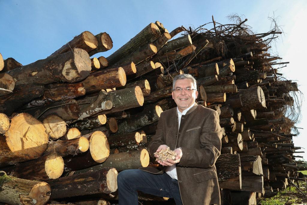 Landesrat Josef Schwaiger: Salzburg ist bei Biomasse österreichweit Spitzenreite..