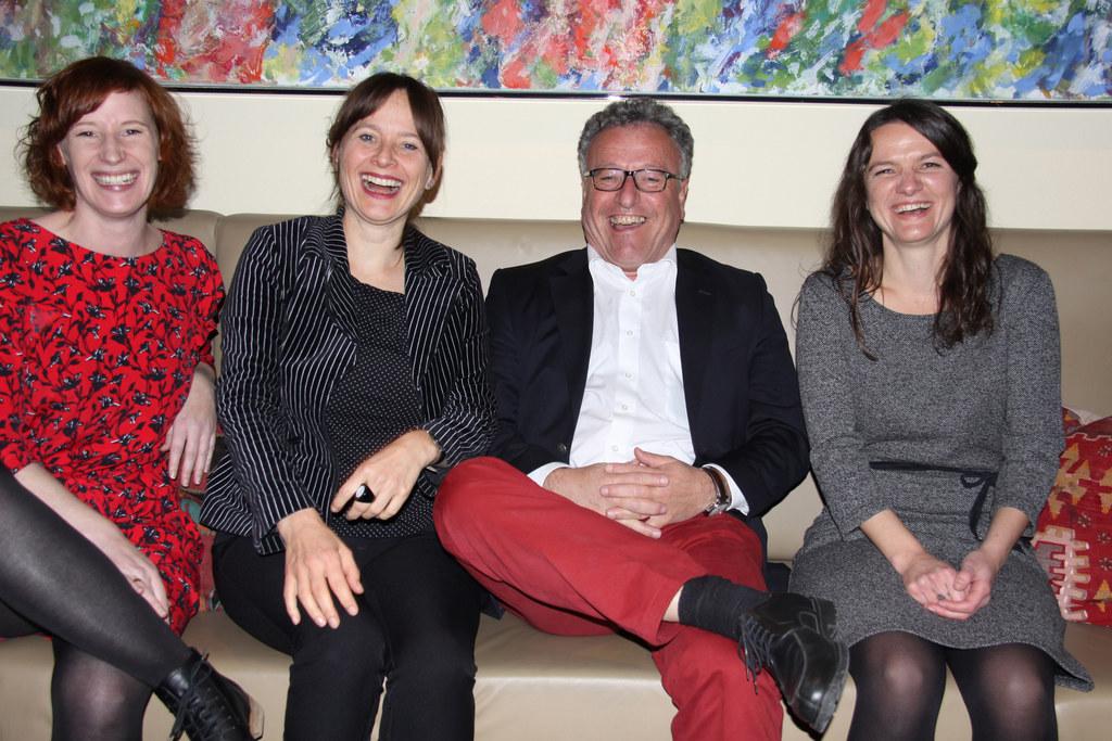 "Katrin Reiter, Gründerin ""Querbeet"", LR Martina Berthold, LR Heinrich Schellhorn.."