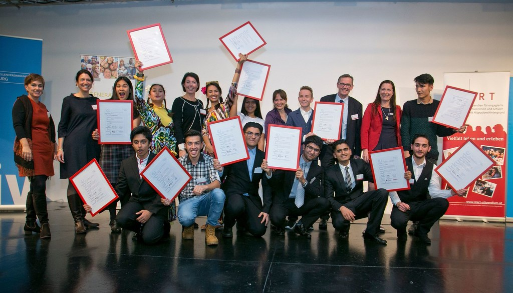 START-Stipendien für engagierte Jugendliche mit Migrationsgeschichte