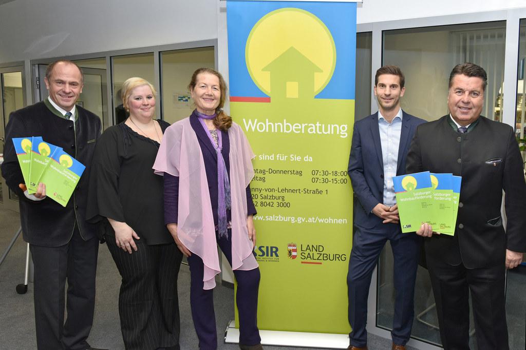 Aigner Walter, Silvia Gruber, Juliana Laubichler, Wolfgang Mittermayr und Landes..