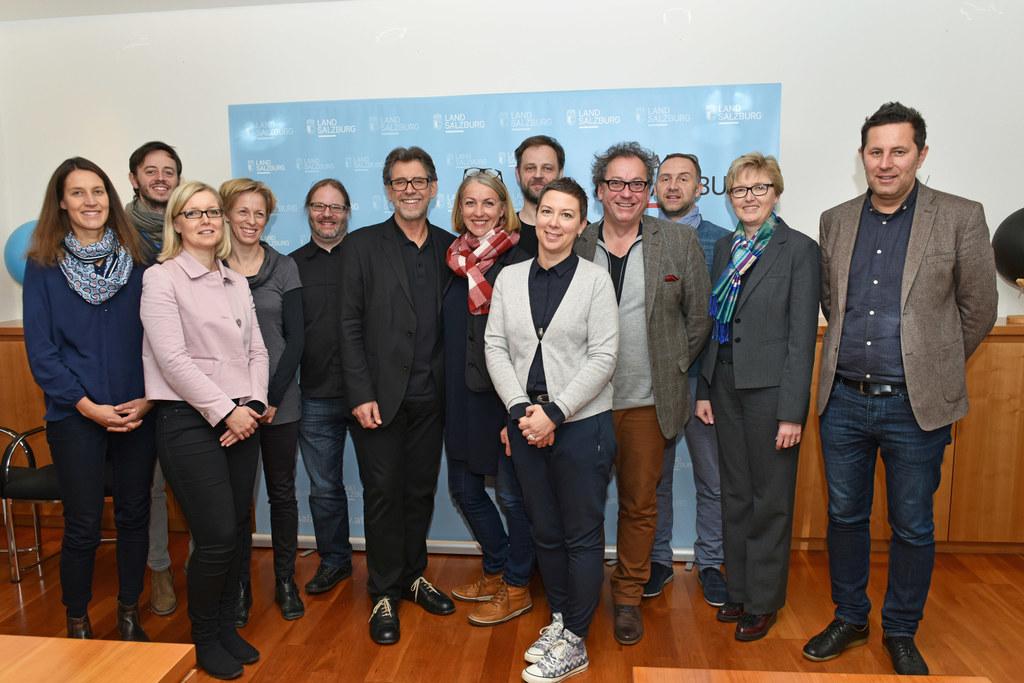 Kürzlich hat sich auch die Steuerungsgruppe für den Salzburger Kulturentwicklung..