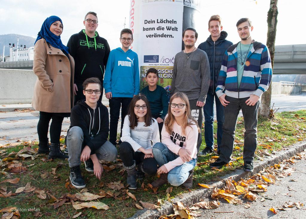 650 Plakate mit Utopien, Wünschen und Ideen wurden am Christian-Doppler-Gymnasiu..