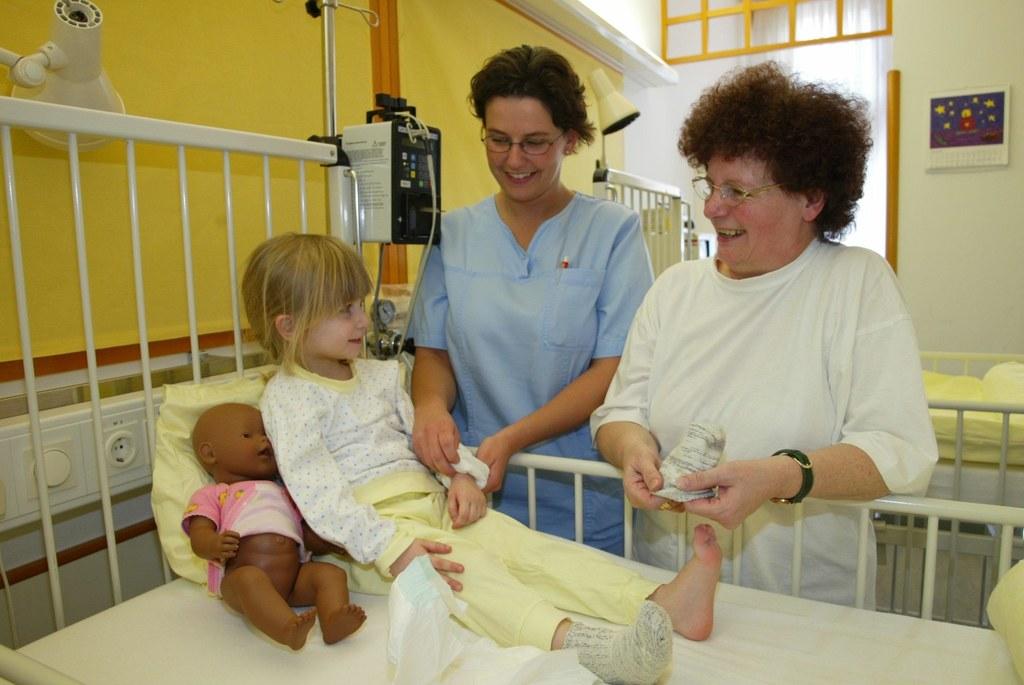 Pflege im Landeskrankenhaus Salzburg