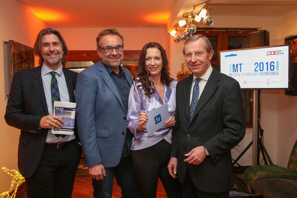 Regisseur und TV-Produzent Hannes Schalle, Designer Gerald Kiska, Irene Schulte ..