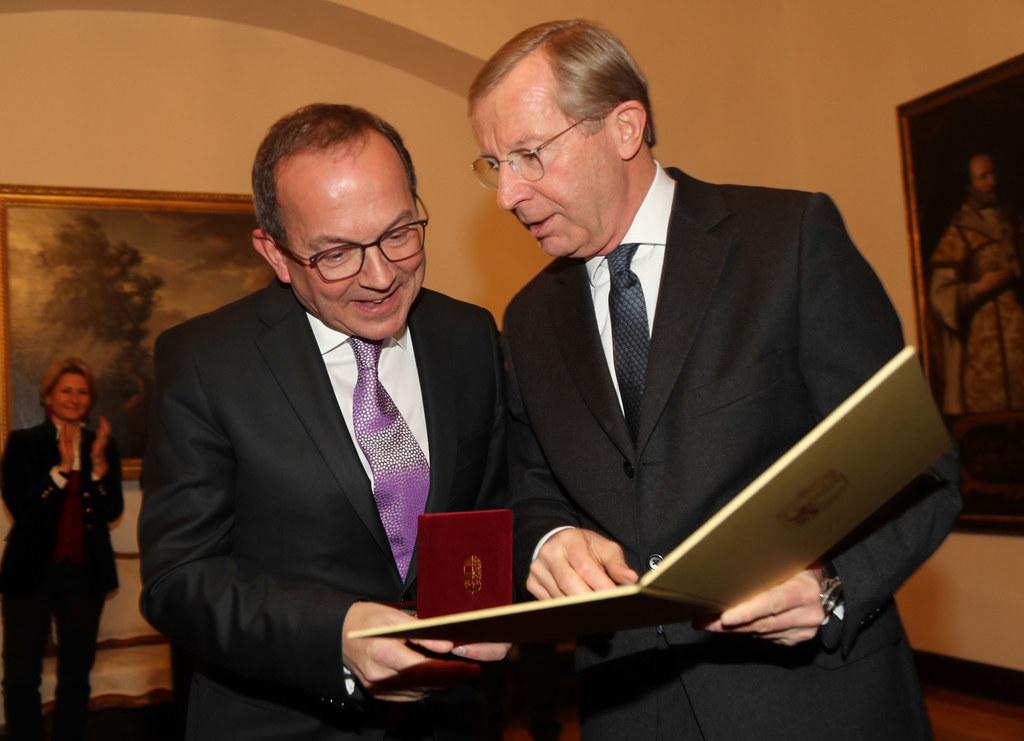 Peter Haubner und LH Wilfried Haslauer
