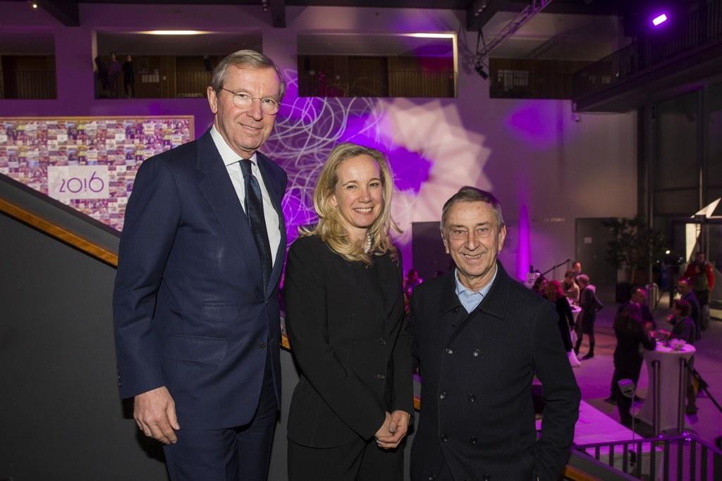Landeshauptmann Wilfried Haslauer, Sarah Wedl-Wilson und Friedrich Urban