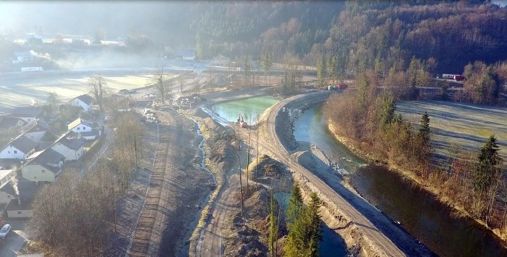 Der Salzburger Weg zum Schutz vor Hochwässern wurde auch 2016 konsequent fortges..