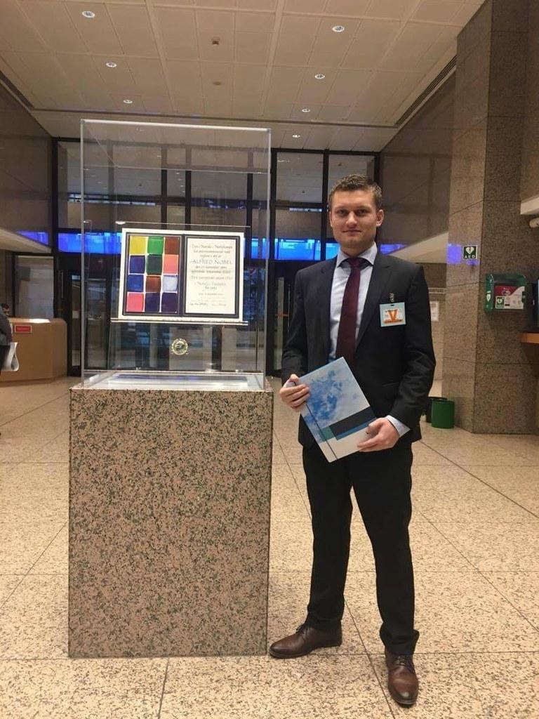 Als Mitarbeiter des Salzburger EU-Verbindungsbüros lernte Markus Ebner (hier im ..