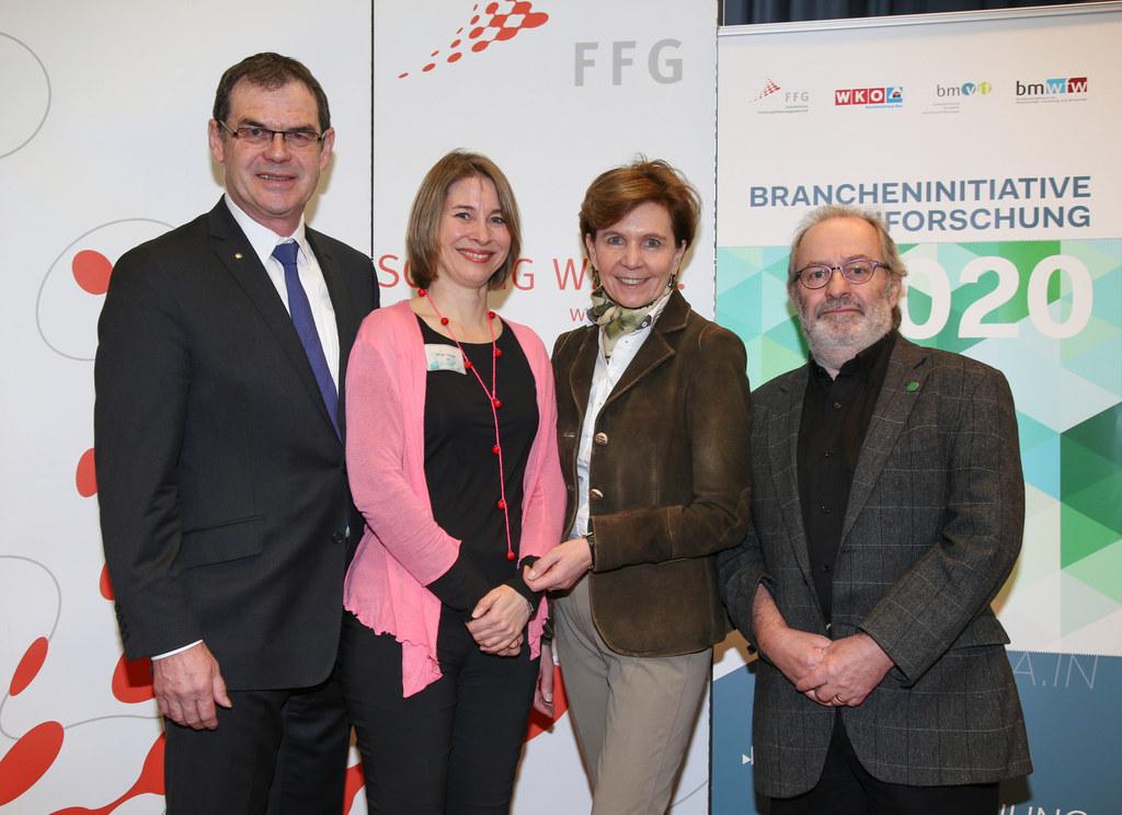 Johann Jastrinsky (stellvertretender Bundesinnungsmeister), Birgit Tauber (FFG B..