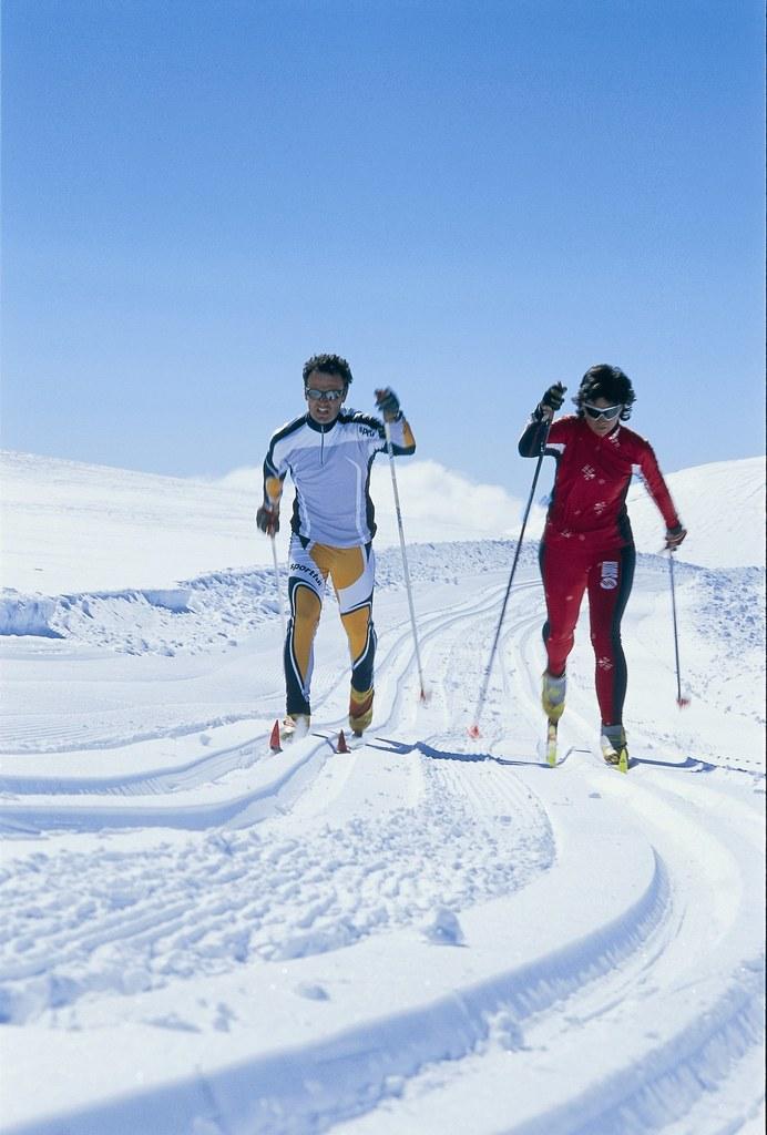 In allen Salzburger Gemeinden gibt es zurzeit Langlauf-Loipen.