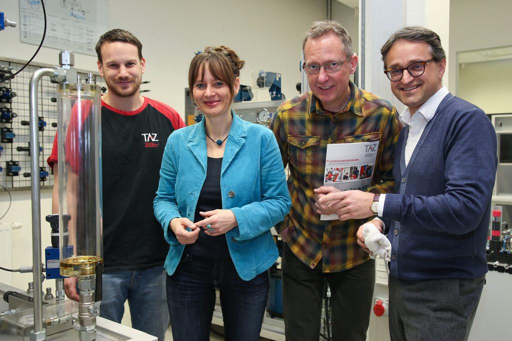 Manuel Wielandner Ausbildner Elektro, LR Martina Berthold, Martin Goller OM und ..