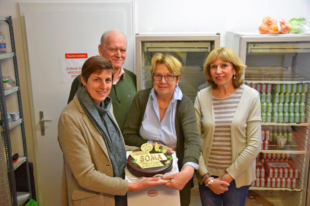 LH-Stv. Astrid Rössler, Soma-Obfrau-Stellvertreter Otto Fischer, Soma-Obfrau Mar..