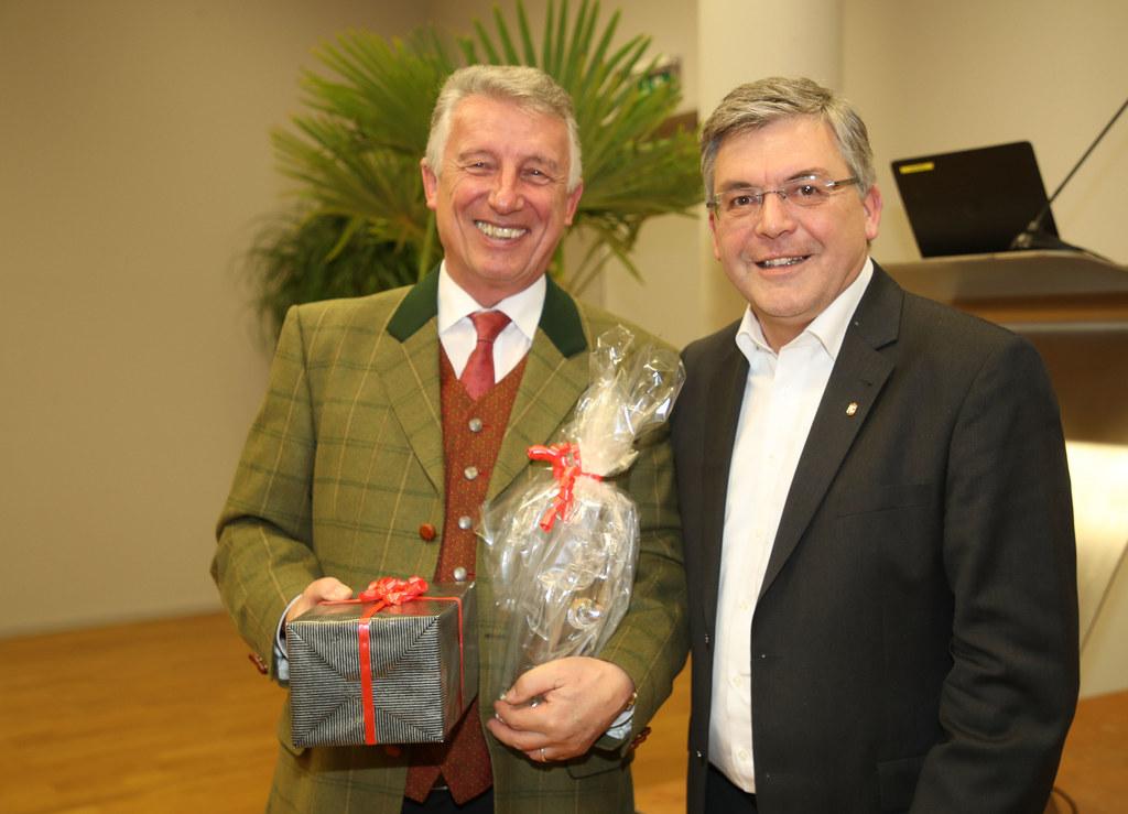 Helmut Mödlhammer und Landesrat Josef Schwaiger