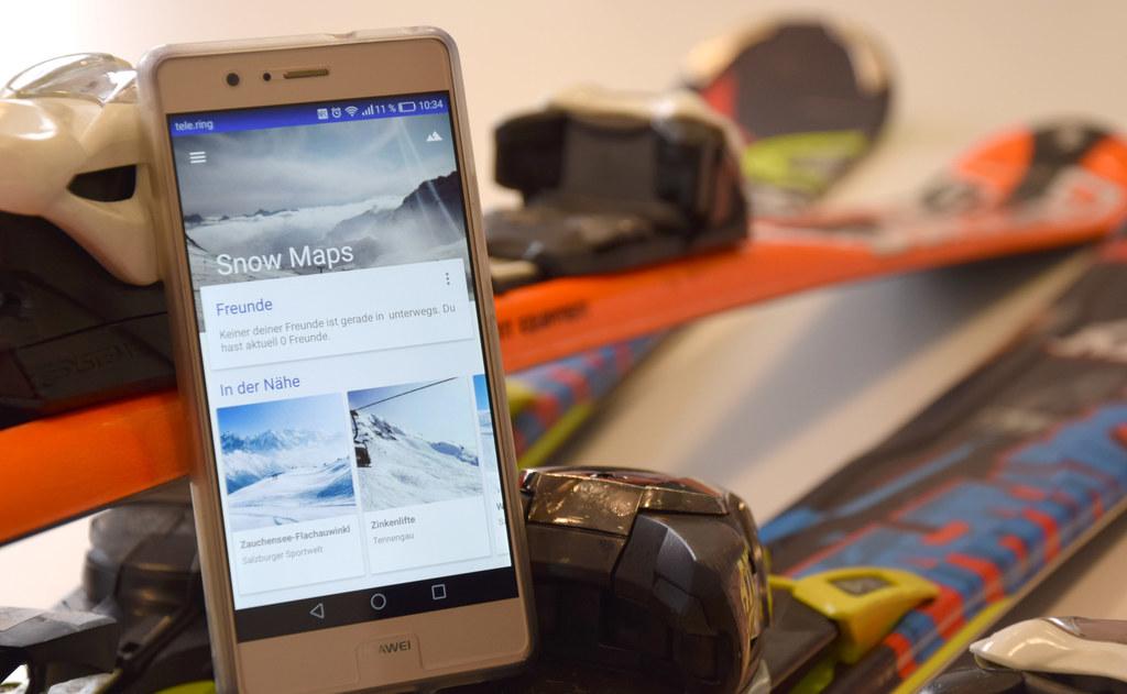 Alle Salzburger Skipisten gibt es jetzt in 3D als praktische App