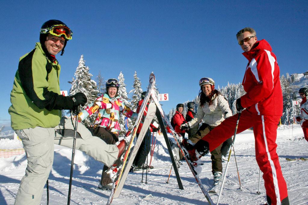 Skifahren als wichtiger Wirtschaftsmotor in Salzburg