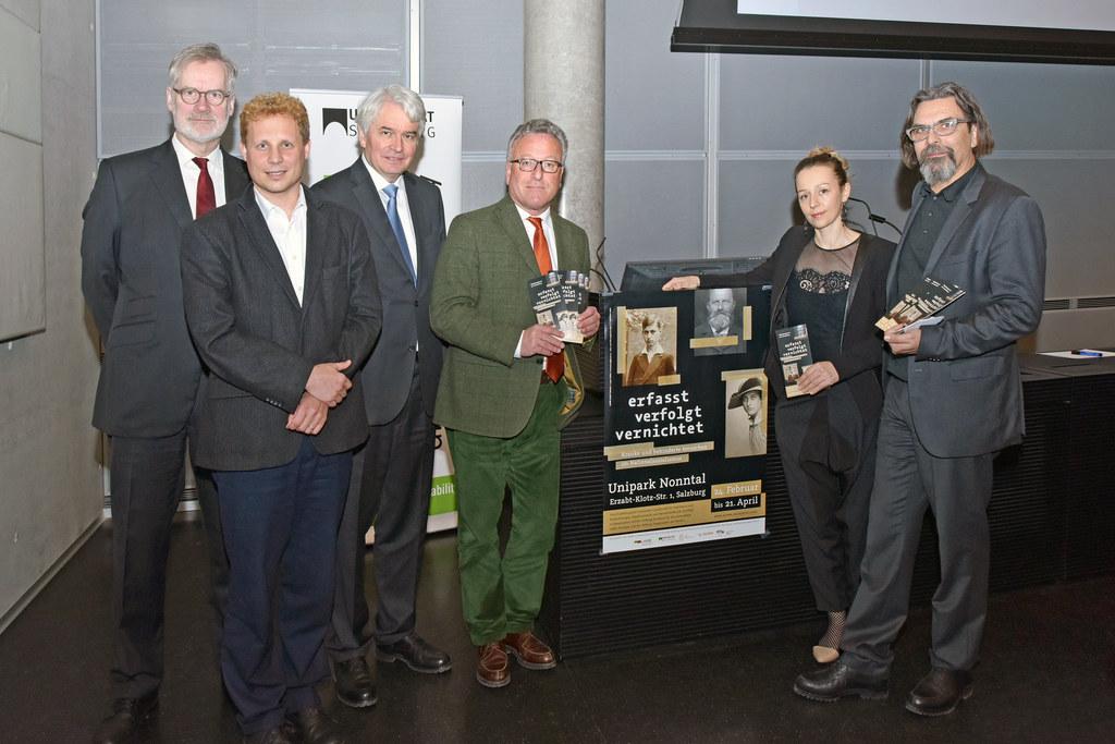 Frank Schneider, Moritz Mühlbacher, Heinrich Schmidinger, Landesrat Heinrich Sch..