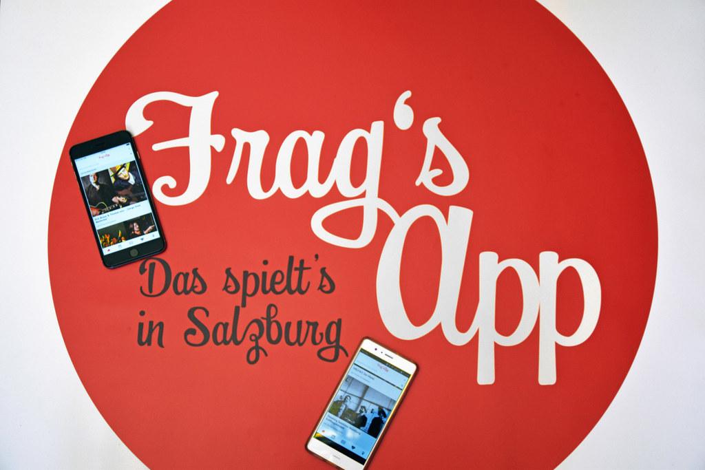 """Mit """"frag`s app"""" immer aktuell informiert über Veranstaltungen und Events in der.."""