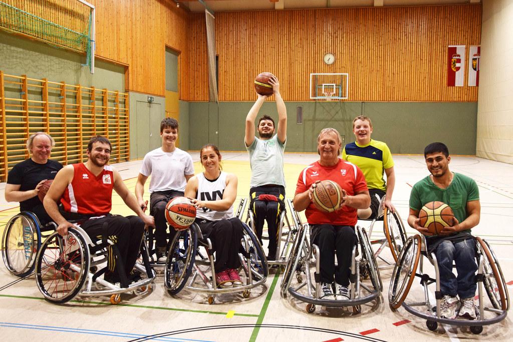 Ein starkes Team: v.l.n.r: Robert Navratil, Christoph Schaschl, Ludwig Malter, C..