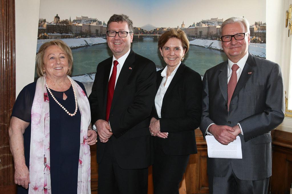 Maria Ganauser Präsidentin d. Österreichisch-Amerikanischen Gesellschaft Salzbur..