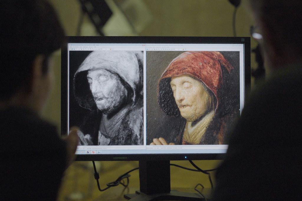 Das Land Salzburg hat die technologischen Daten des Rembrandt-Bildes
