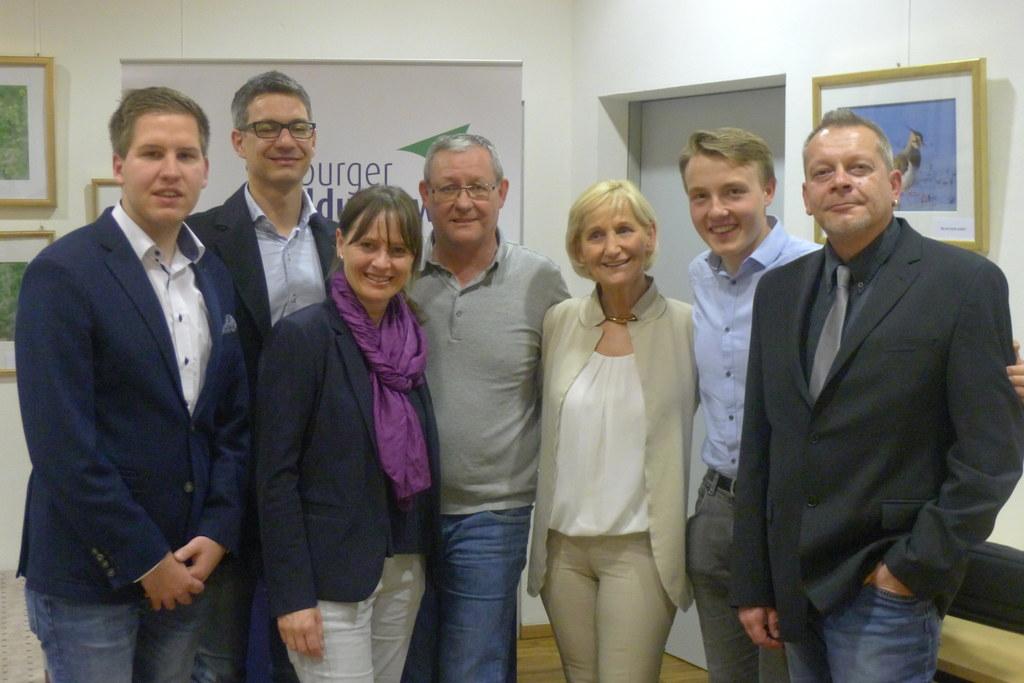 Fabian Scharler, Michael Minichberger, LR Martina Berthold, BM Wolfgang Viertler..