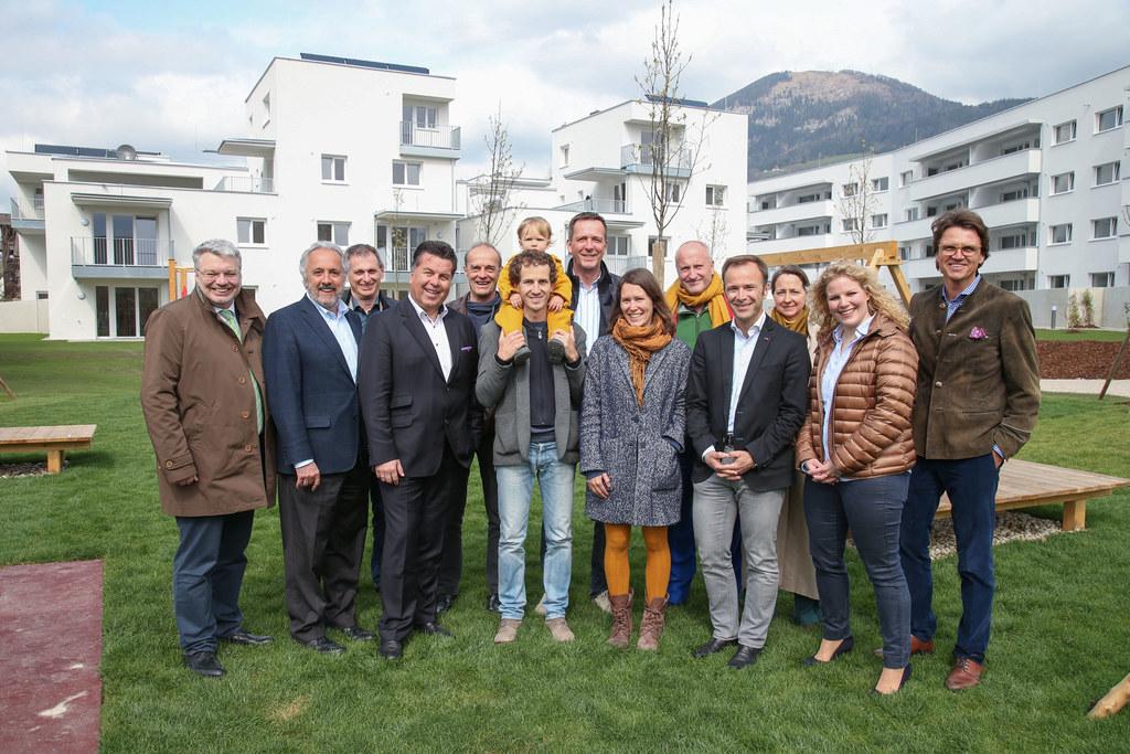 Im Salzburger Stadtteil Aigen wurden kürzlich 63 Wohnungen übergeben.