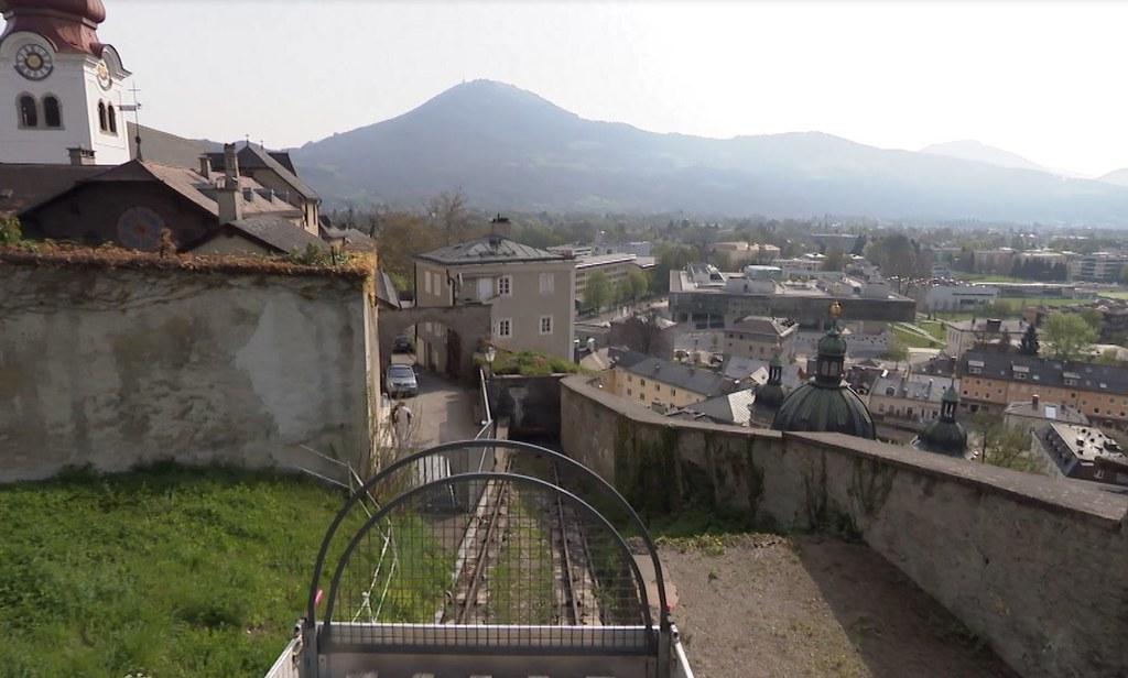 Seit mehr als 500 Jahren ist der Reißzug die Versorgungsader der Festung Hohensa..