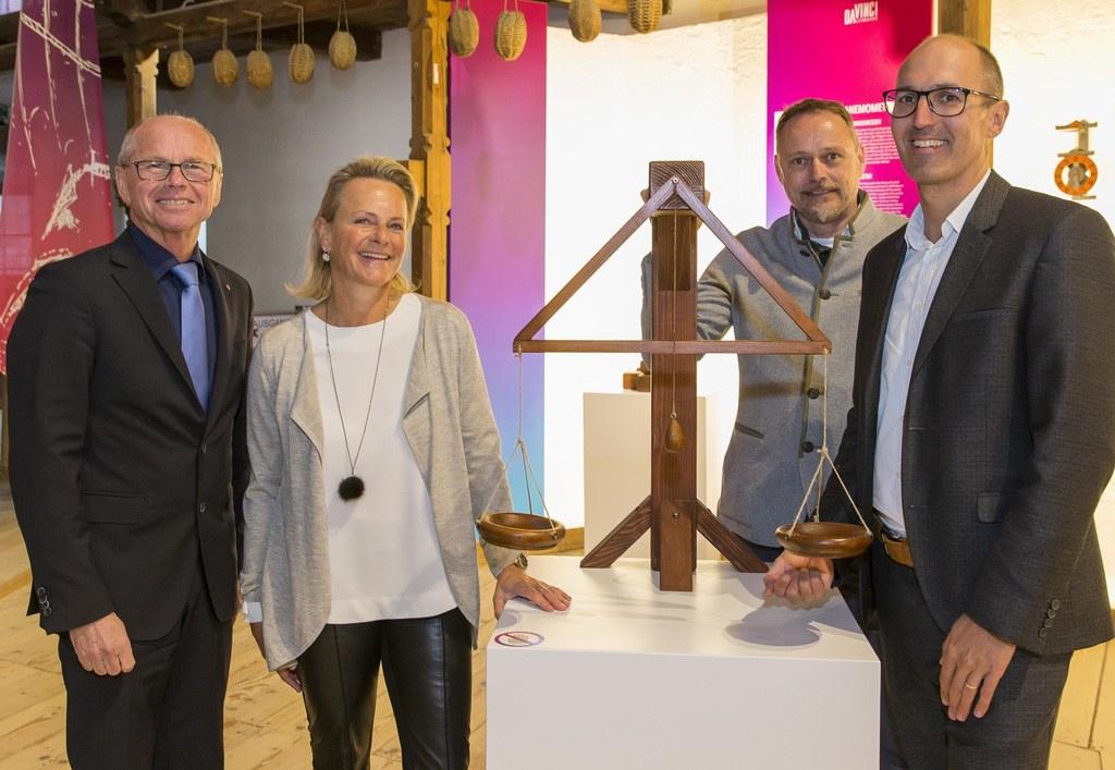 Landeshauptmann-Stellvertreter Christian Stöckl, Birgit Meixner, Paul Anzinger u..