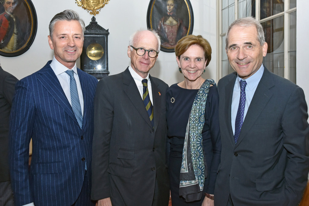 Werner Zenz, Johannes Haindl, Landtagspräsidentin Brigitta Pallauf und Helmut Ge..