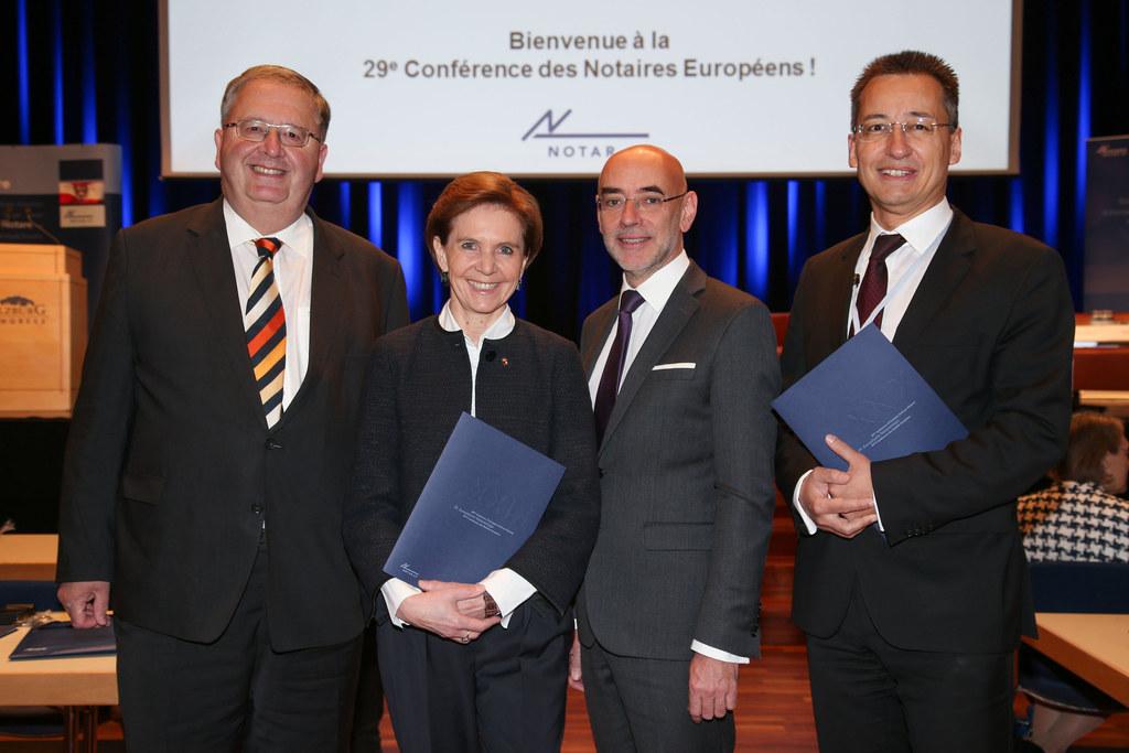 Ludwig Bittner Präsident der Österreichischen Notariatskammer, Landtagspräsident..