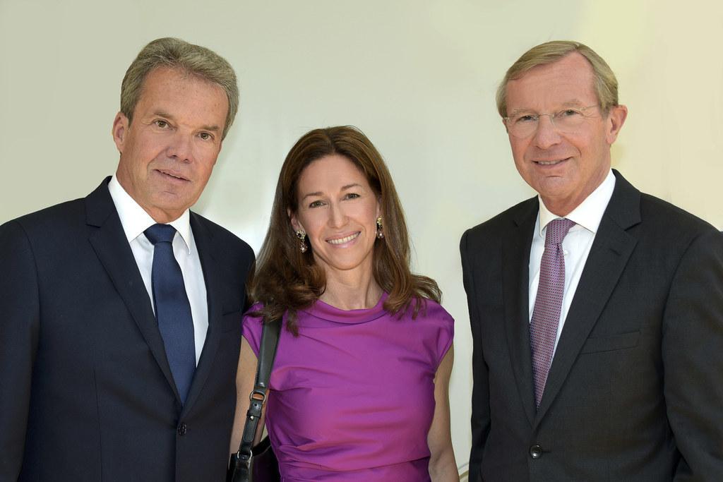 KWT-Landespräsident Johannes Pira mit Gattin Barbara und Landeshauptmann Wilfrie..