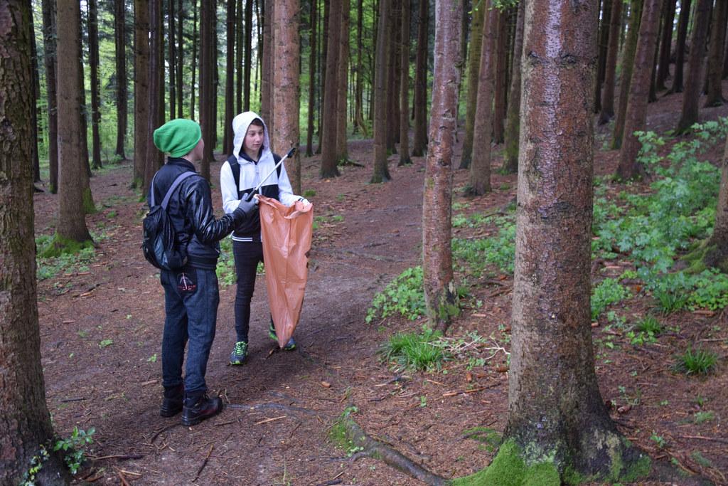 """Die Aktion """"Sauberes Salzburg"""" kommt gut an - mehr als 8.000 Kilo Müll werden au.."""