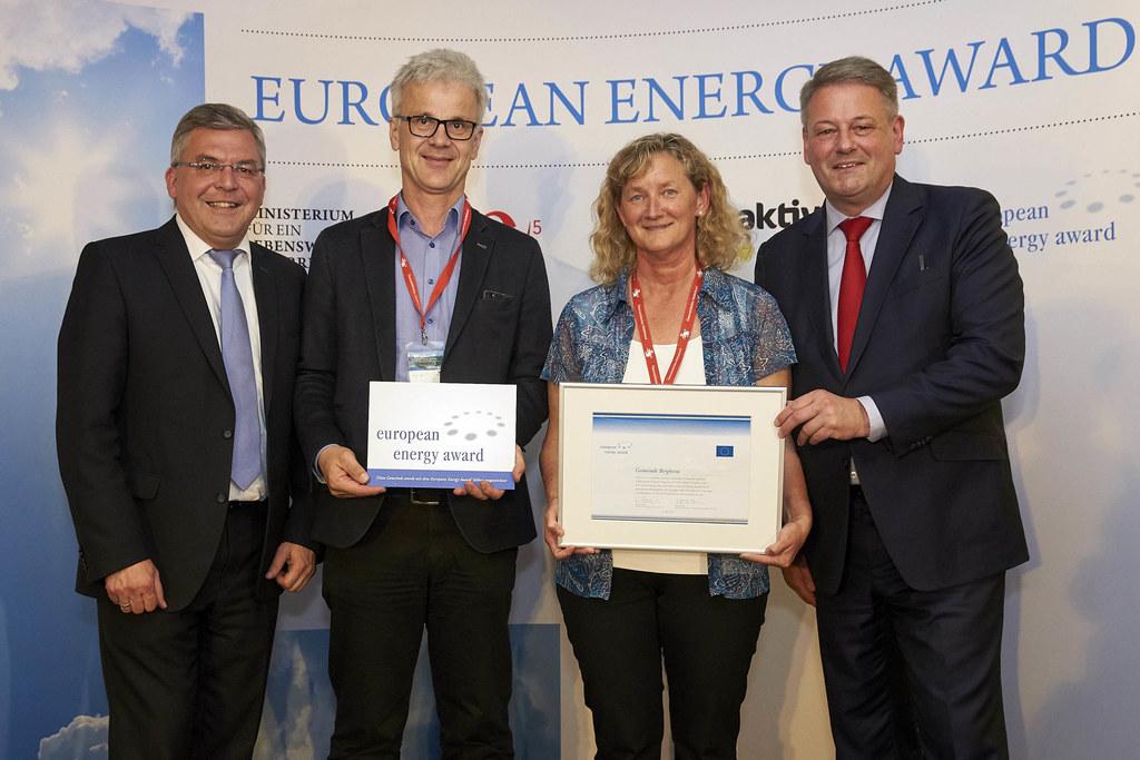 Landesrat Josef Schwaiger bei der Verleihung der European Energy Awards