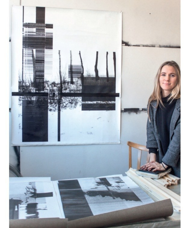 Tina Greisberger, Slavi Soucek-Stipendiatin Paris 2017