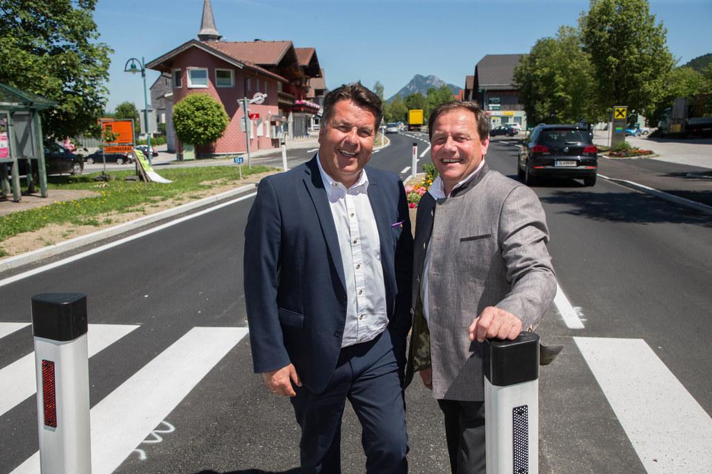 Landesrat Hans Mayr und Bgm. Thomas Ließ